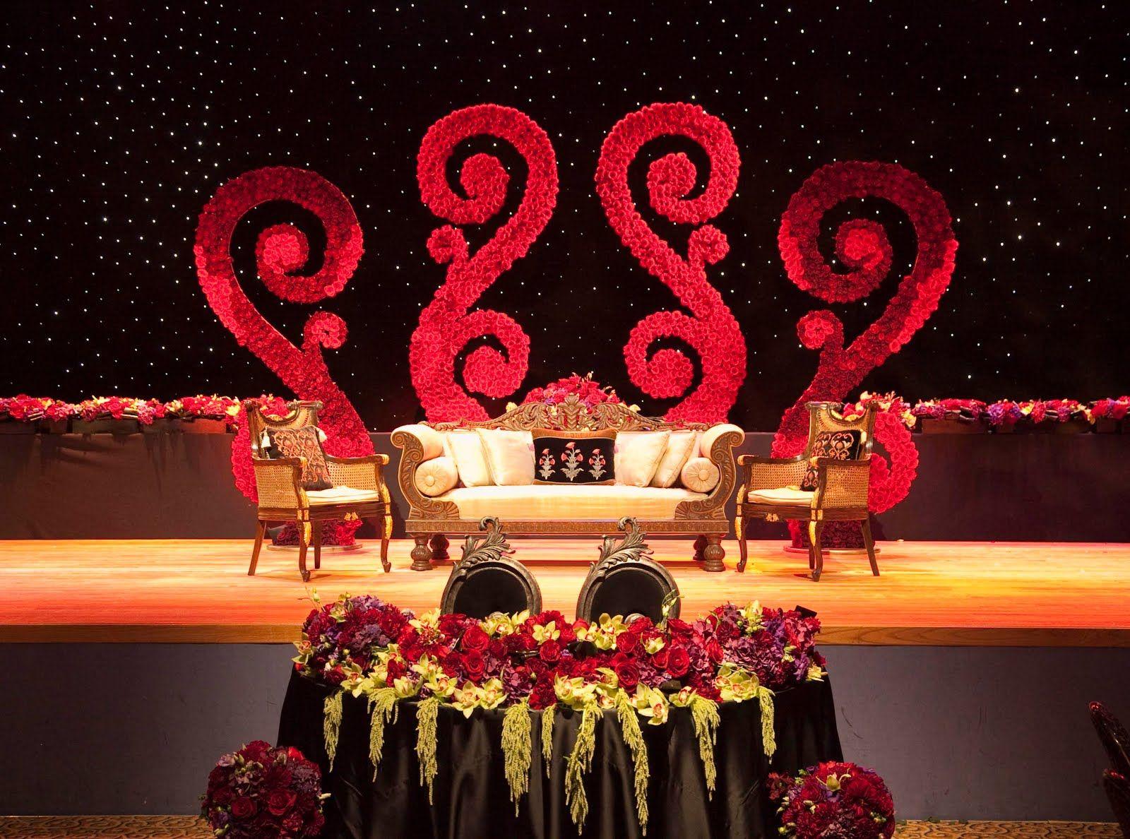 marriage decorationwedding decorationwedding stage decoration pictureshallsmandapamflower - Stage Decorations