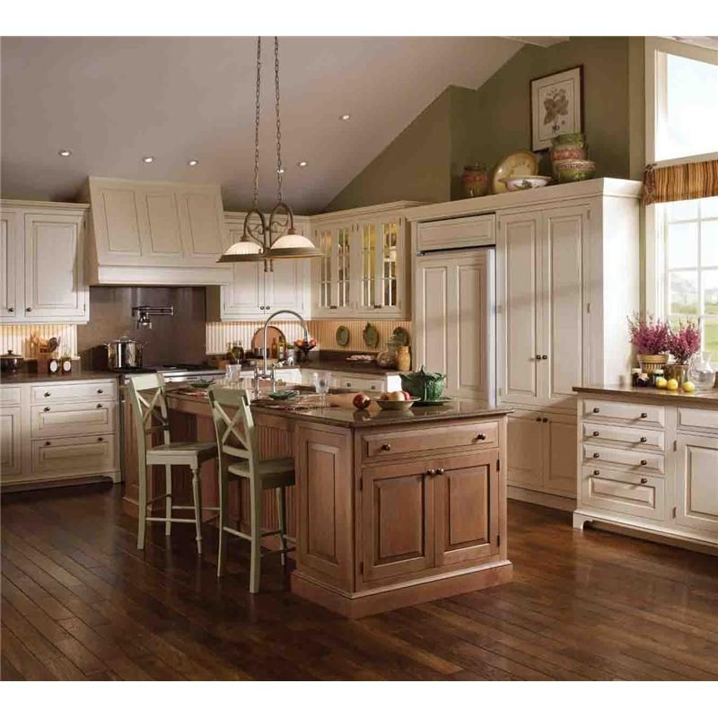 "Wood Mode Cabinetry In This Kitchen: ""leg"" On Cabinet W/toe Kick Plate Cape Cod Kitchen"