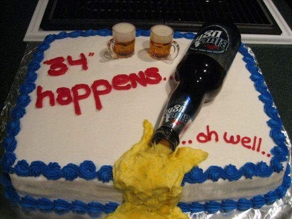 beer cake for Bs this year beauty Pinterest Beer cakes Cake