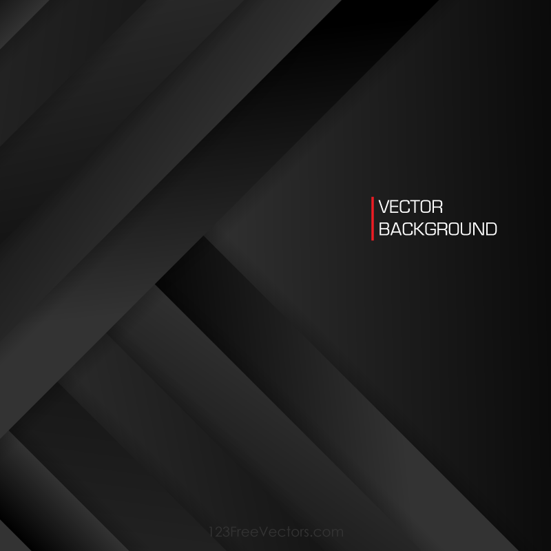 Abstract Black Background Vector In 2020
