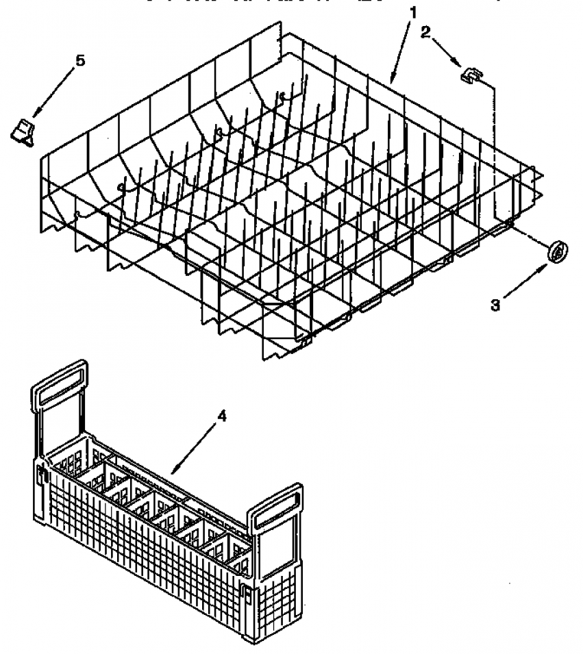 Refrigerators Parts: Kitchenaid Dishwasher Parts