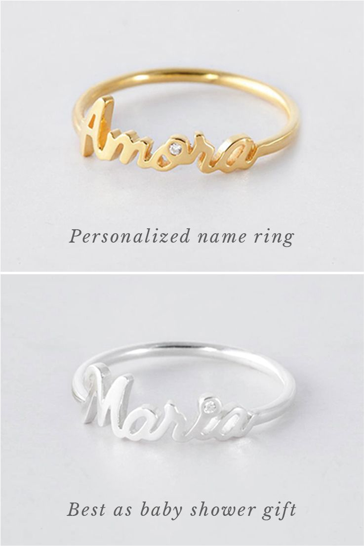 nola collections small cali cristy script rings ring