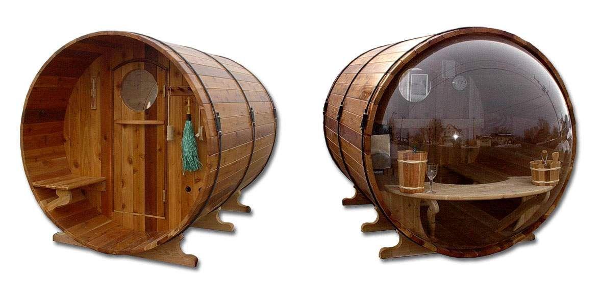 Scenic View Barrel Sauna - Buy Cedar Barrel Sauna Product on ...