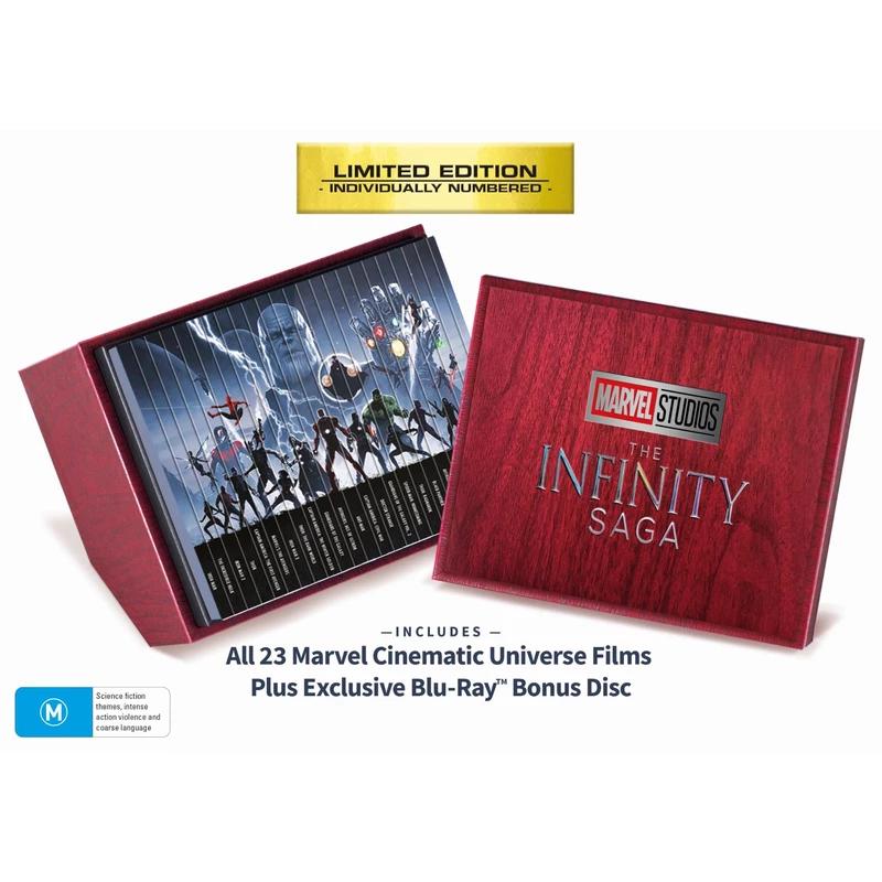 Marvel Studios The Infinity Saga Collection Movies Jb Hi Fi Blu Ray Collection Marvel Marvel Studios