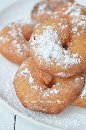 Appel beignets met beslag - Carola Bakt Zoethoudertjes #appelbeignetsmaken