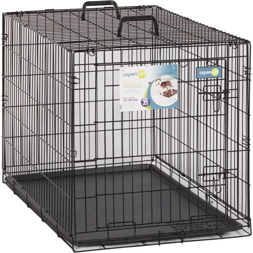 Aspen Pet Home Training Wire Dog Kennel (70-90 lbs) | Safford ...