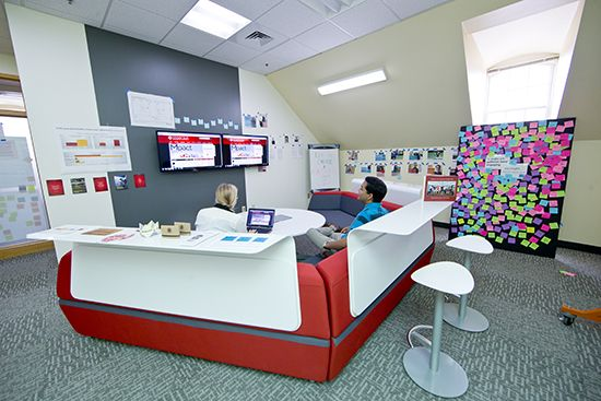 Academy spaces academy for innovation and for Innovative office space ideas