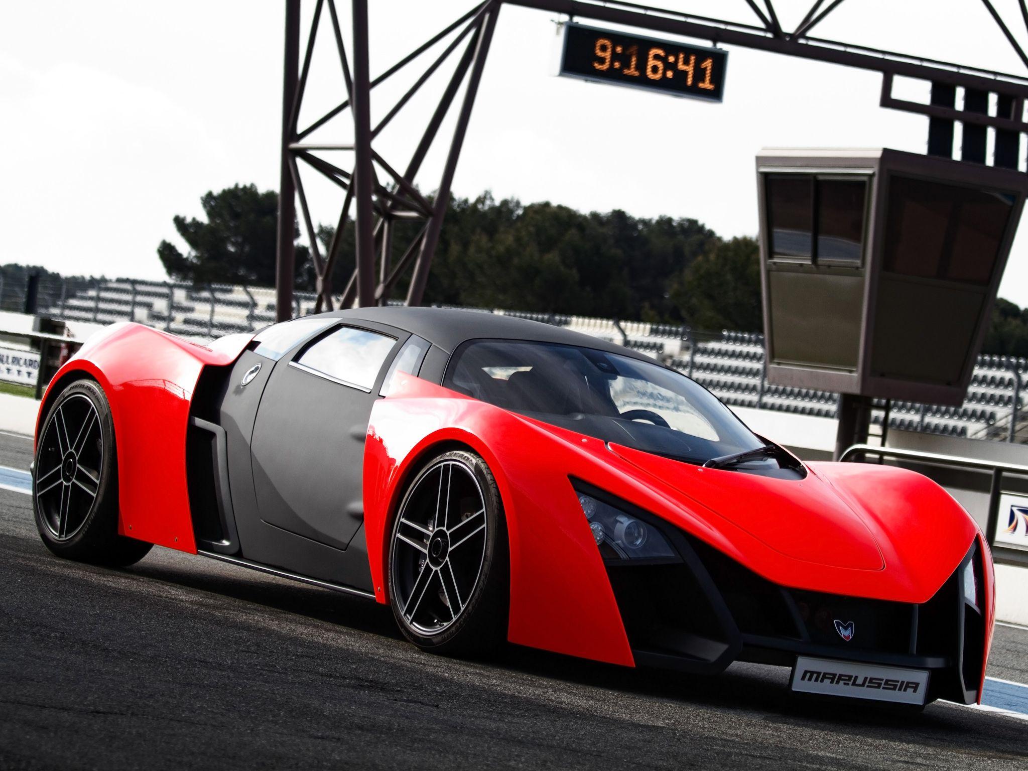 Marussia B2 | Red sports car, Sports car wallpaper, Sports car