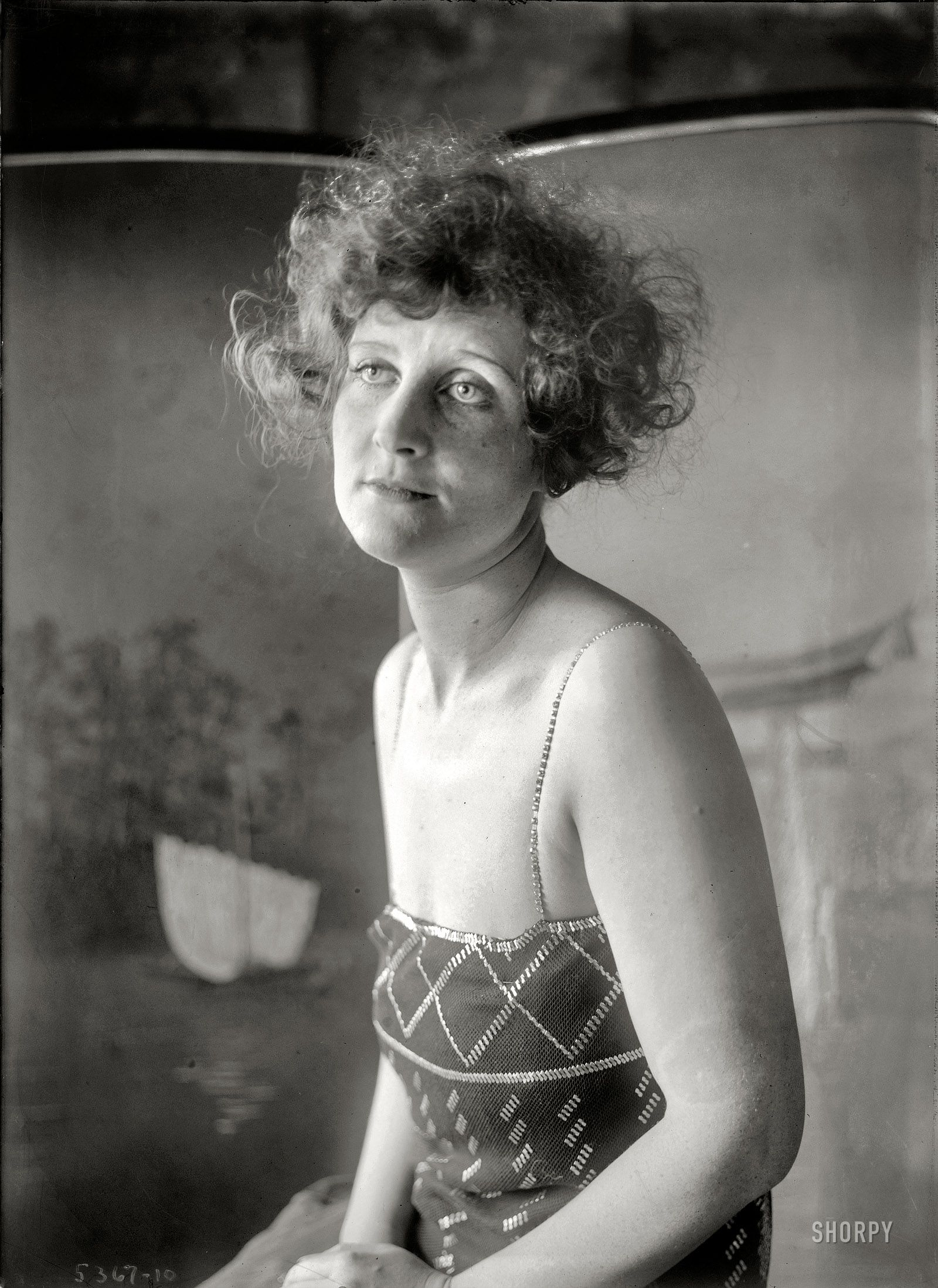 """New York circa 1920. One of six similar Bain News Service portraits labeled """"Soot."""""""