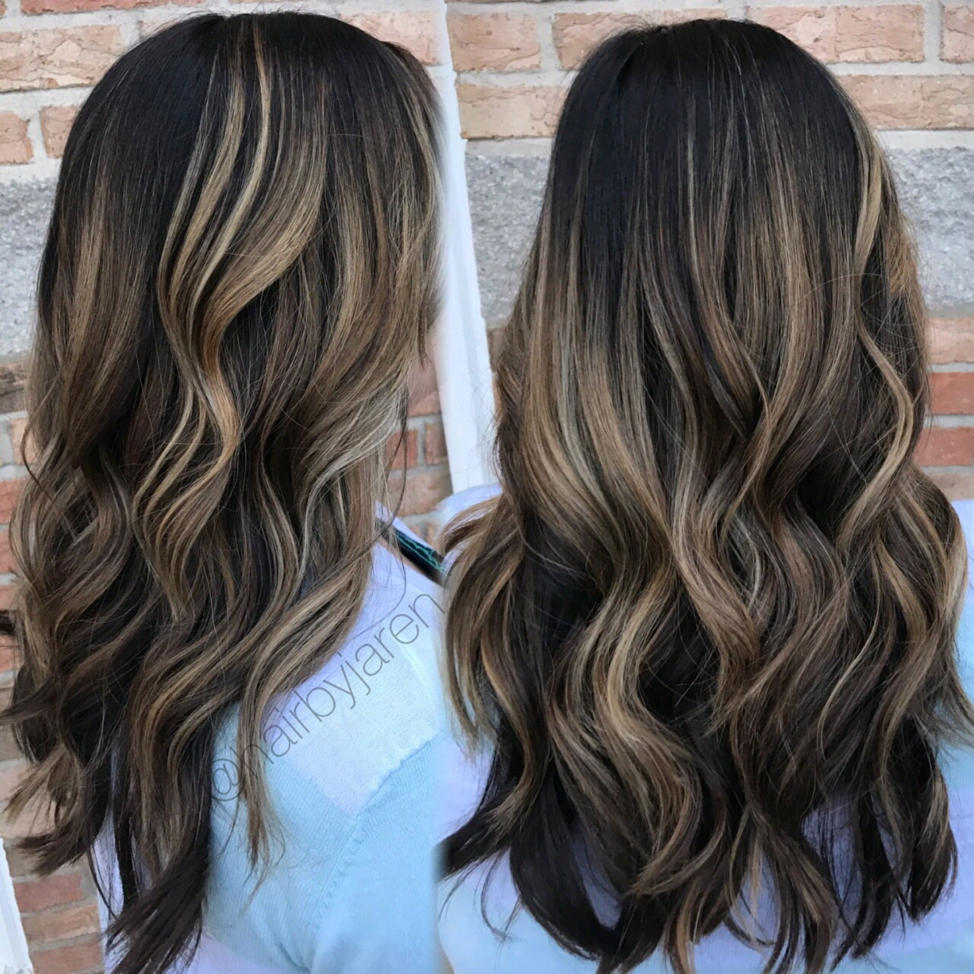 Dark Root Carmel Balayage Dark Roots Blonde Hair Blonde Hair With Roots Carmel Balayage