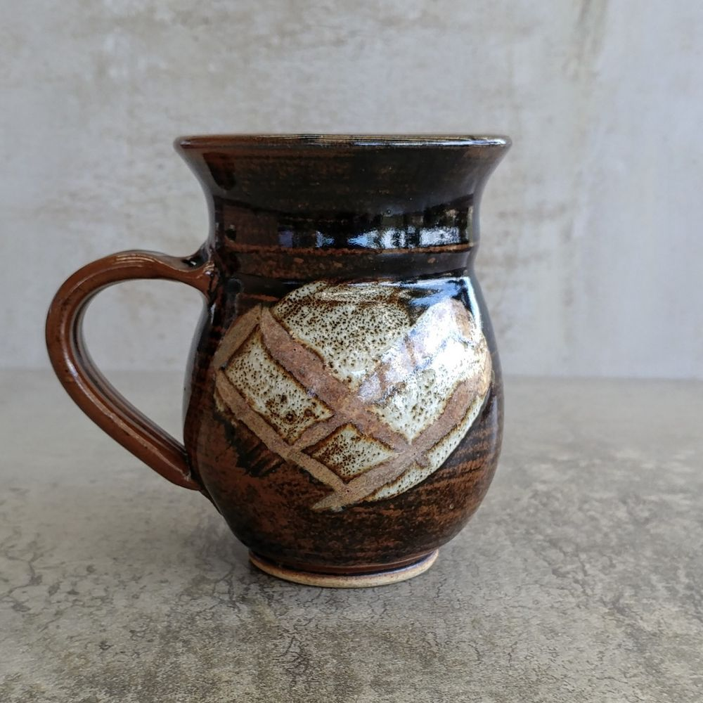 Australian Studio Pottery Coffee Mug by Nadia and Norman