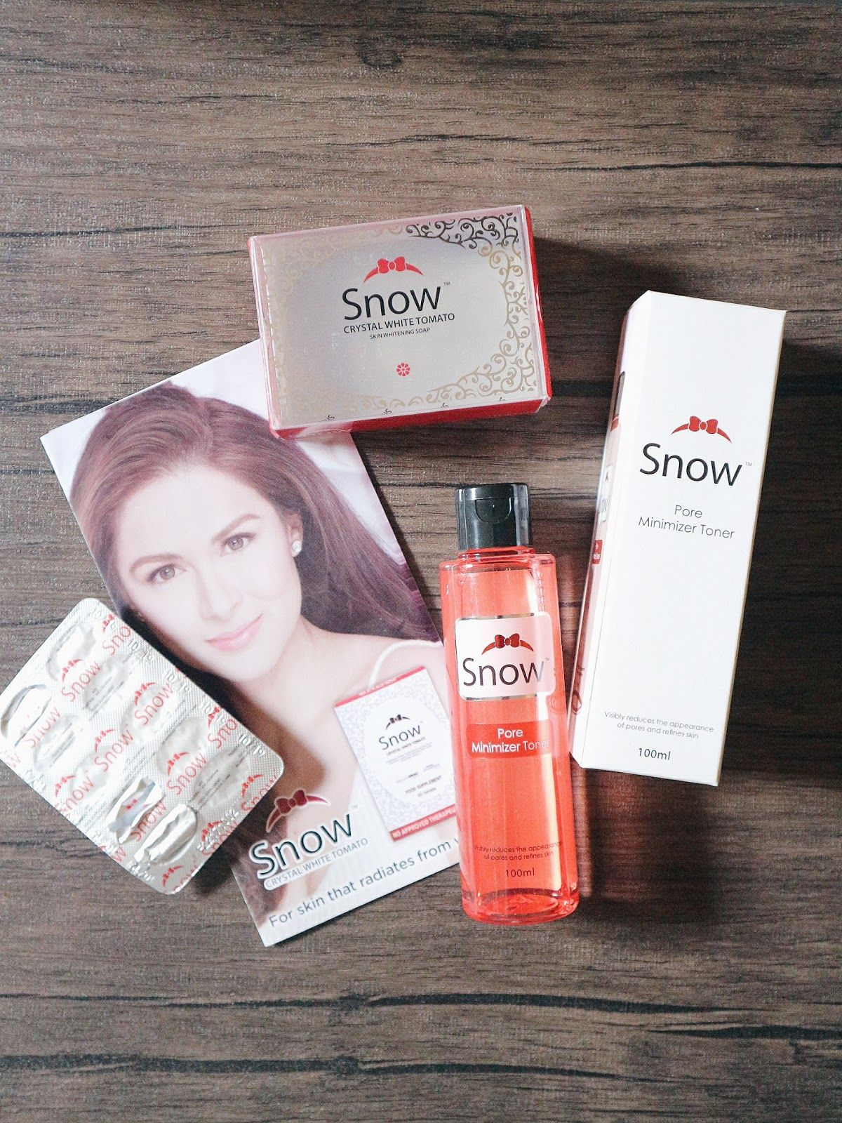 Three Products I Tried From Snow Snow Crystal White Review