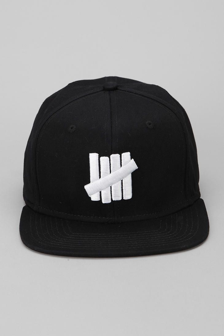 Undefeated 5 Strikes Snapback Hat  UrbanOutfitters Snapback Hats be3cb798cf2
