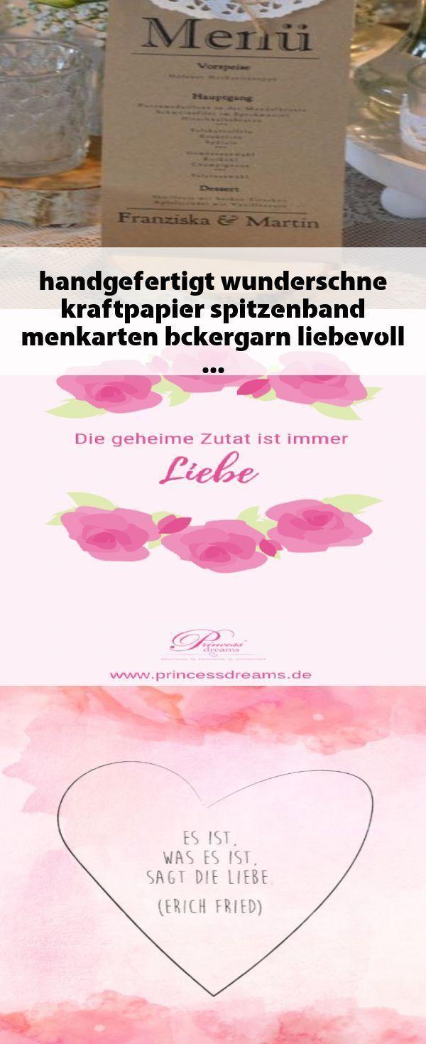Beste Bild menkarten Hochzeit diy mich #handgefertigt #wunderschne #kraftpapier …