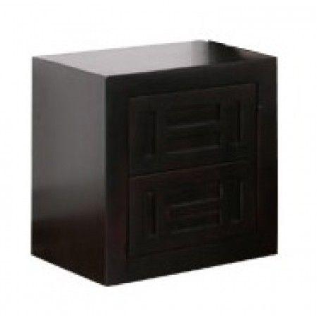 Quil 2 Drawer Bedside