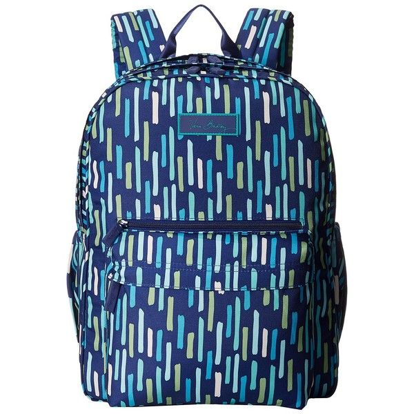 12208245bc Vera Bradley Lighten Up Grande Backpack (Katalina Showers) Backpack...  ( 40) ❤ liked on Polyvore featuring bags