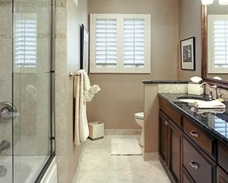 We Help Create Beautiful Spaces Of All Sizes Like This Hall Bathroom Bathrooms By