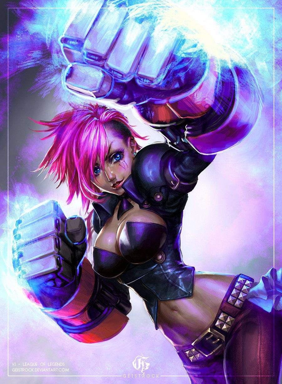 VI - League of Legends by GEISTROCK | artworks | Pinterest ...