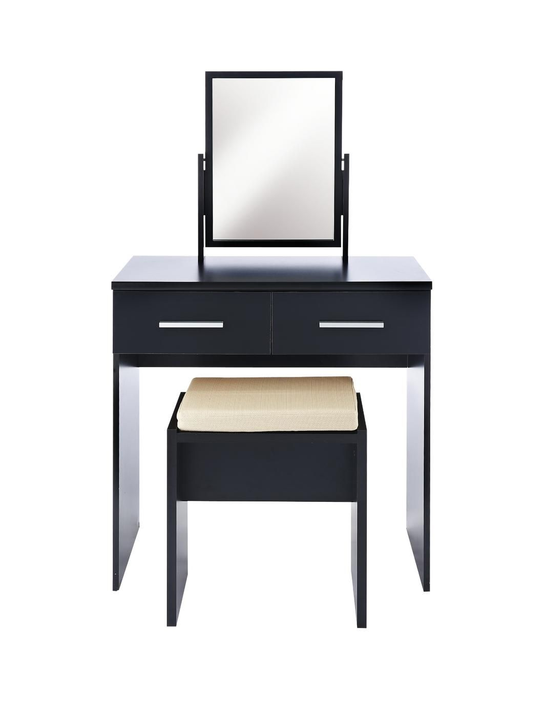Prague Bedroom Furniture Set Prague High Gloss Dressing Table Stool And Mirror Set Http Www
