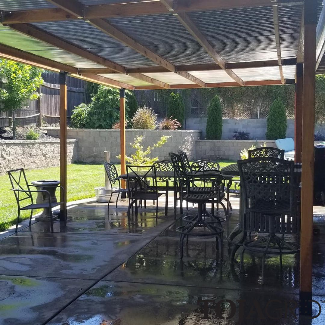 Double Pergola Kit With 2 Shade Sails For 4x4 Wood Posts Shade Sail Pergola Deck With Pergola