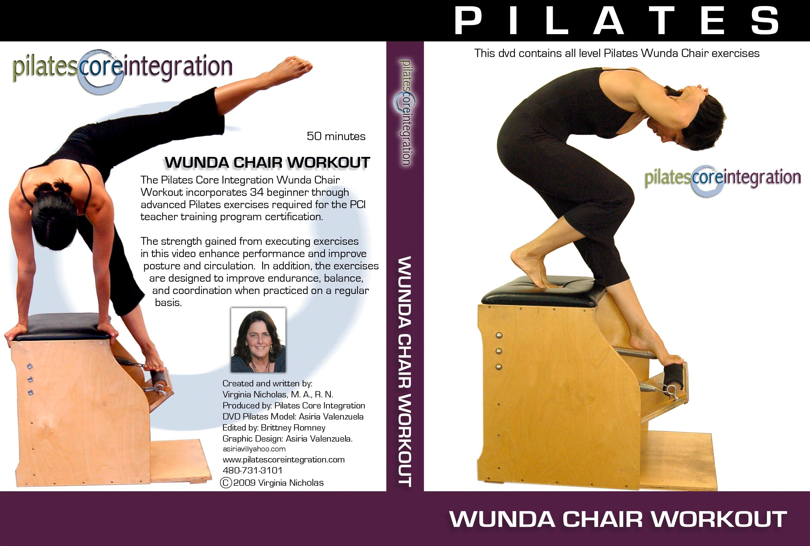 chair gym dvd set iron dining chairs pilates dvds pinterest