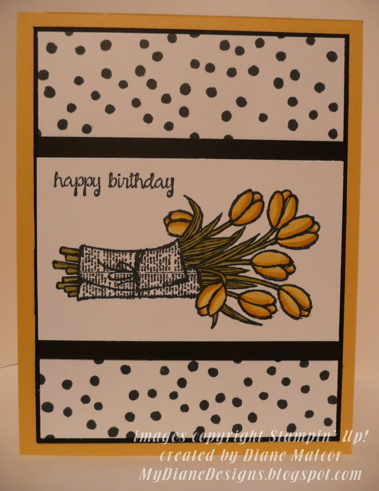 More Birthday Kindness - http://mydianedesigns.blogspot.com/, Love is Kindness, And Many More, Endless Birthday Wishes, Stampin' Up!