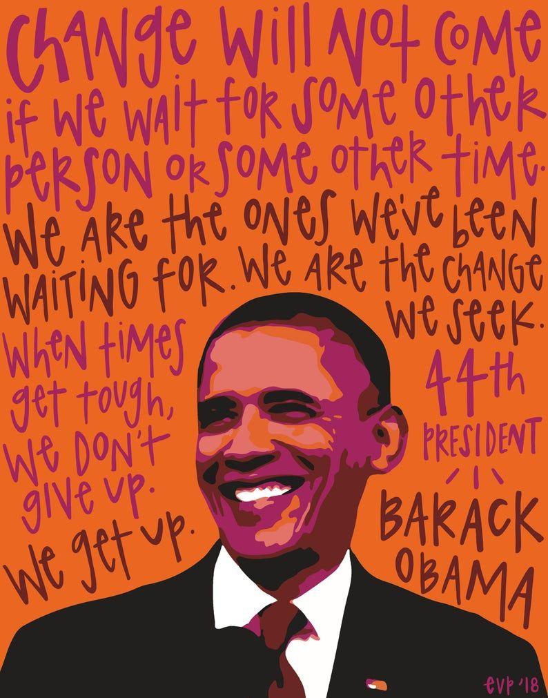 Obama Barack Obama Obama Poster President Obama I Miss Etsy Black Lives Matter Poster Black Lives Matter Art Black Lives Matter Quotes