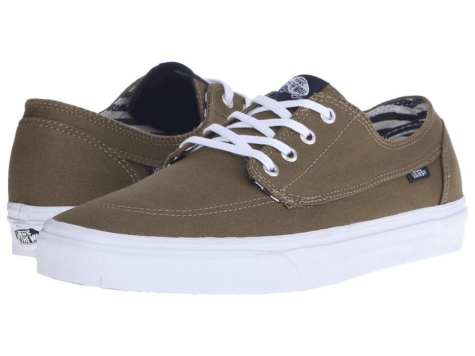 e15742eaf39f02 VANS VANS - BRIGATA ((DECK CLUB) COVERT GREEN) SKATE SHOES.  vans  shoes