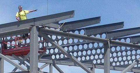 cellular beam | STEEL & METAL in 2019 | Steel trusses, Steel