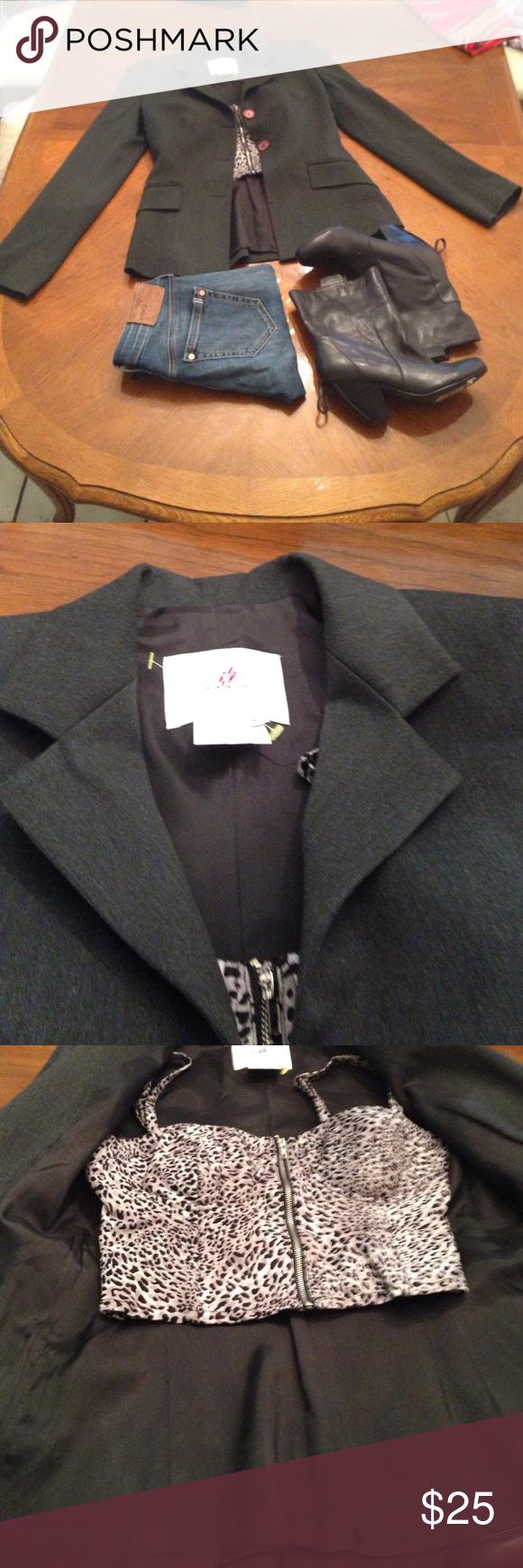 Vertigo suit blazer Vertigo formal, casual, jacket Vertigo Paris Jackets & Coats Blazers