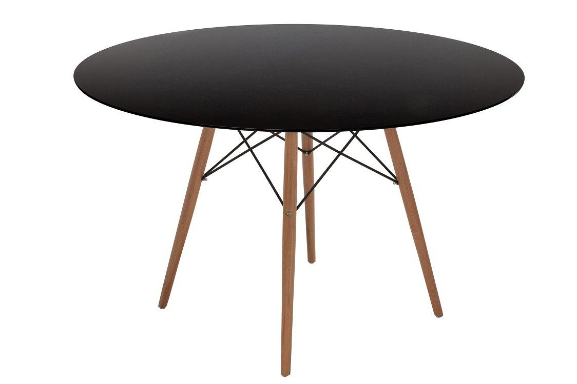 Replica Charles Eames Dining Table Black 120cm The Wonderful