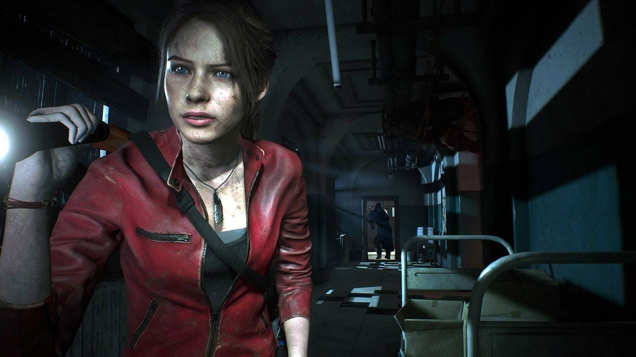 Resident Evil 2 Claire A Part 4 Mr X And The Sherry Part The
