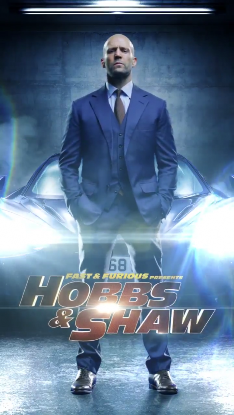 Hobbs And Shaw Movie Poster Poster 海报