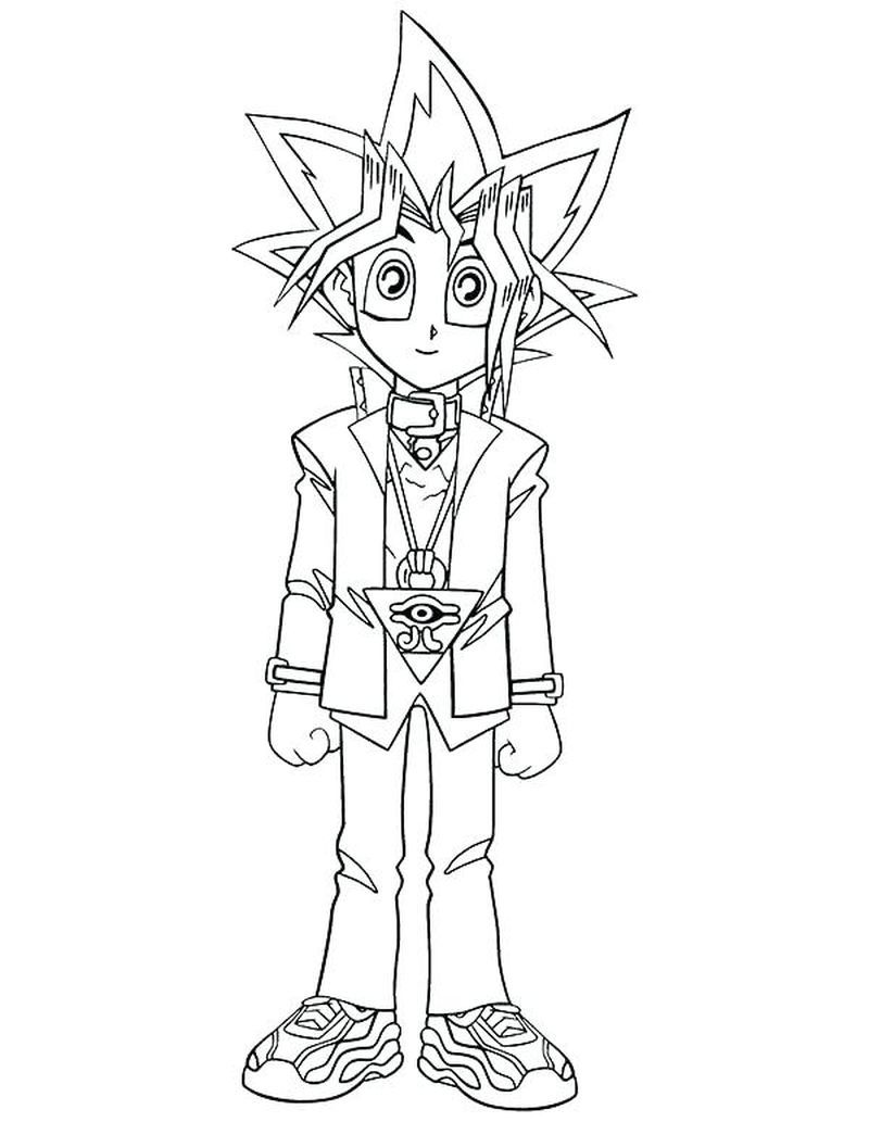 Free Yugioh Coloring Pages Print Pdf Cartoon Coloring Pages Coloring Pictures For Kids Coloring Pages