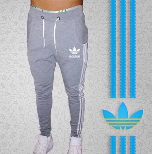 f753f58a9cdac Pantalon Babucha Adidas Hombre Jogging Deportivo Semi Chupin ...