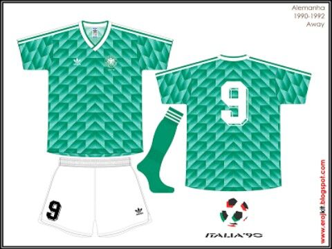 West Germany 1990 World Cup Jersey