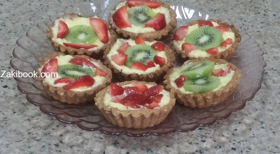 وصفات صحية ميني تارت الفواكه دايت زاكي Dessert Recipes Food Recipes