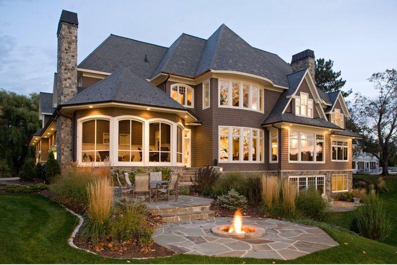 12 maisons typiques am ricaines maison americaine architecture bois et maisons for Interieur maison americaine