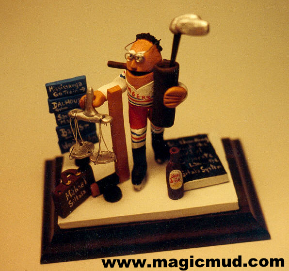 Unique Lawyers Gift Lawyer On Ice By Magicmud Custom Made Birthday For The Attorney Who Has Everything 200 Any Occupational Figurine