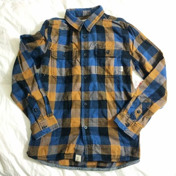 5f448b2136a93c Plaid Flannel NWT Vans Brand new never worn. Bought for my son. The colors