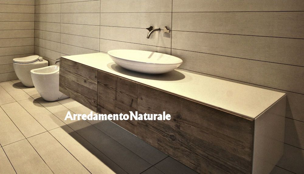 Pin by laura solero on vf12 interiors in 2019 bagno for Mobili legno grezzo in kit