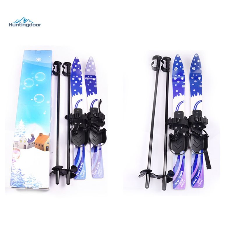 Outdoor Junior Skis W Snowboard Pole Bindings Boots Komperdell Alpine Skiing Board For Kid 5 10 Years Alpine Skiing Snowboarding Snowboard