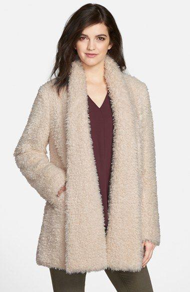 Teddy Bear' Faux Fur Clutch Coat | Nordstrom sale