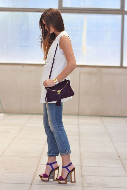 Trendy Taste con sandalias Tanya de Jessica Simpson