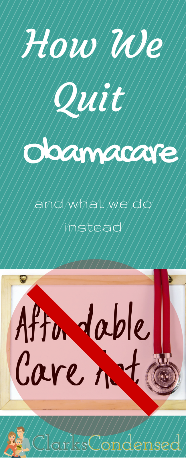 Our Health Insurance Was Just Getting Too High With No Benefits