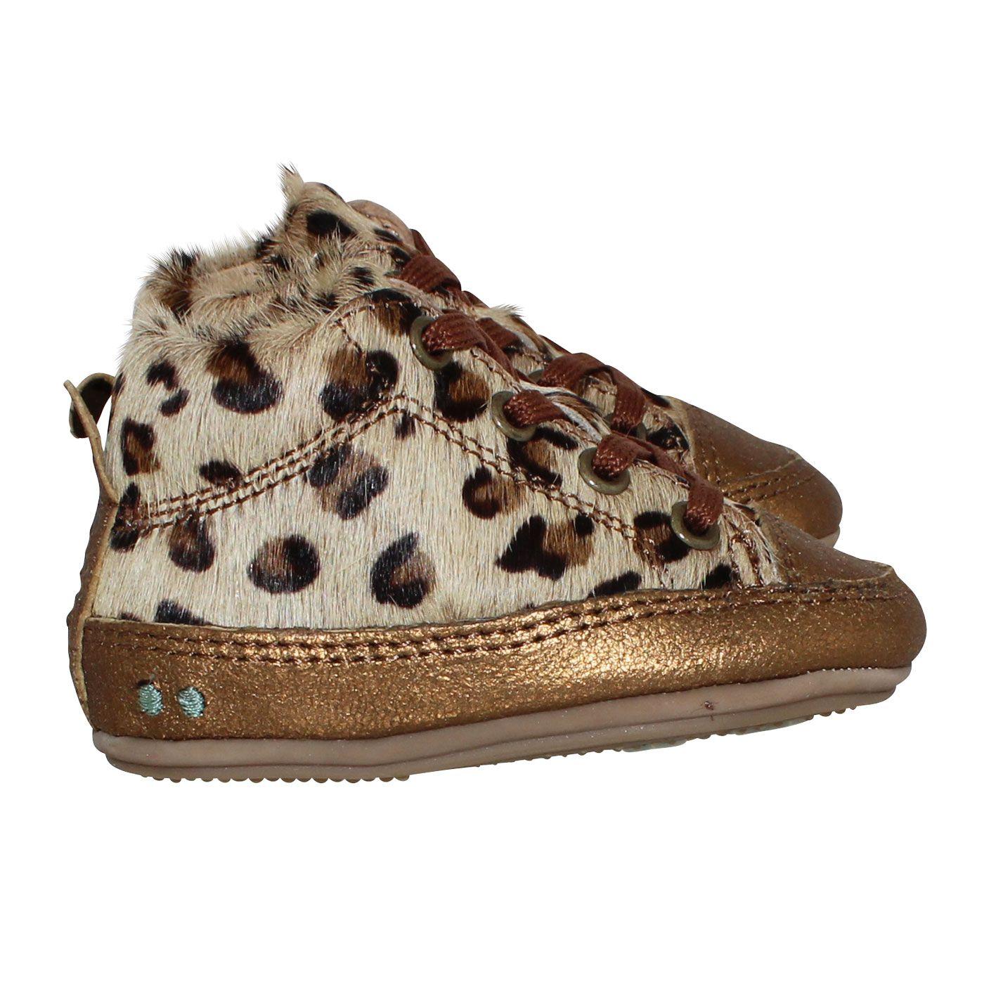 Bunnies Kinderschoenen.Zukke Zacht Leopard Kinderkleding Slippers Shoes En Bunny