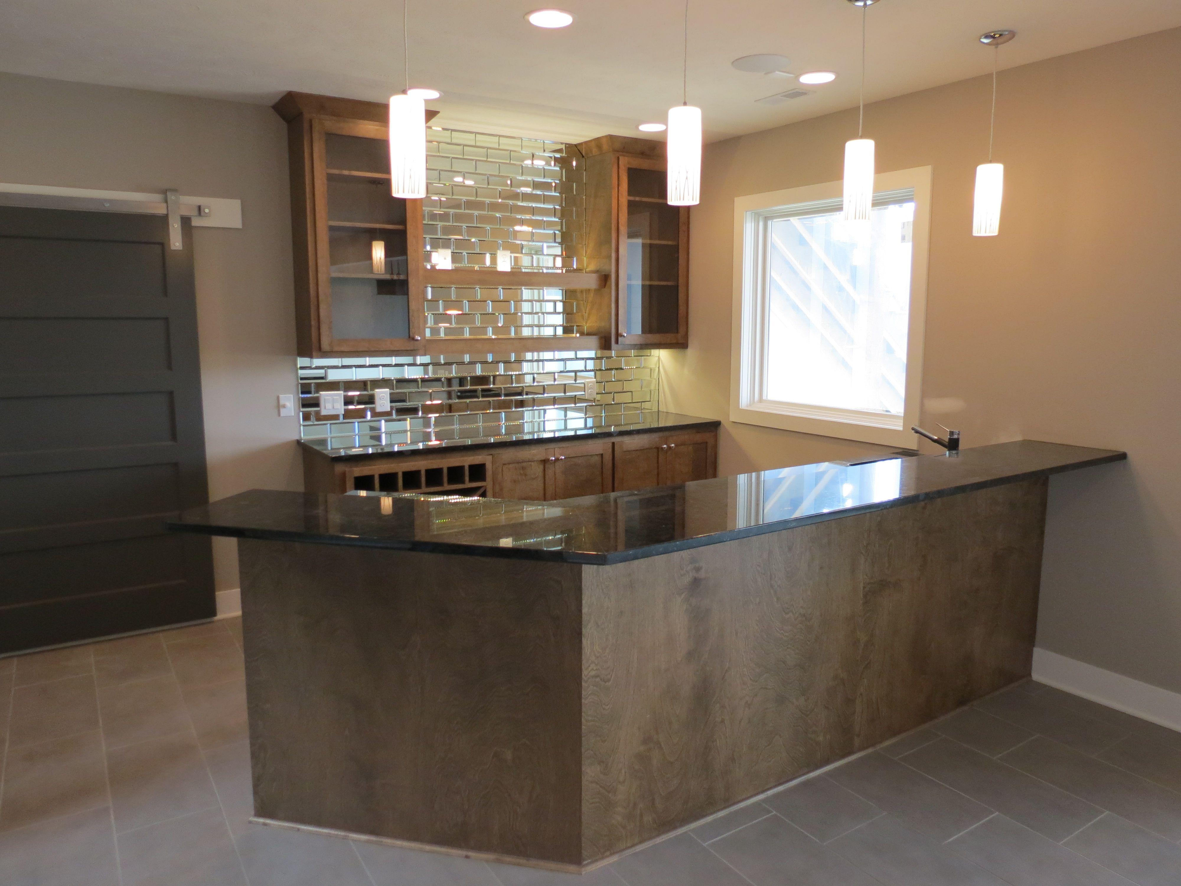 modern basement bar. Custom KRT Modern, Basement Bar In Omaha, Nebraska. Modern M