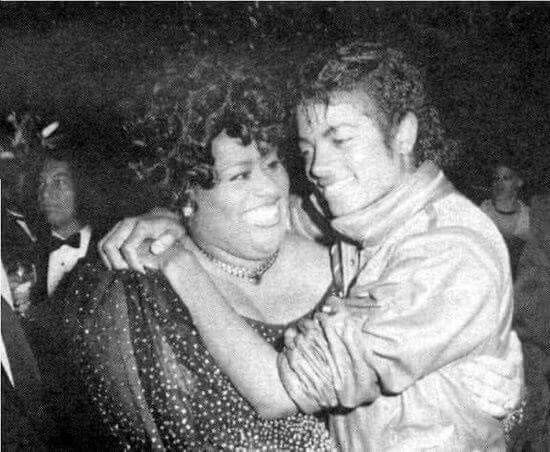 Jennifer Holiday and Michael Jackson