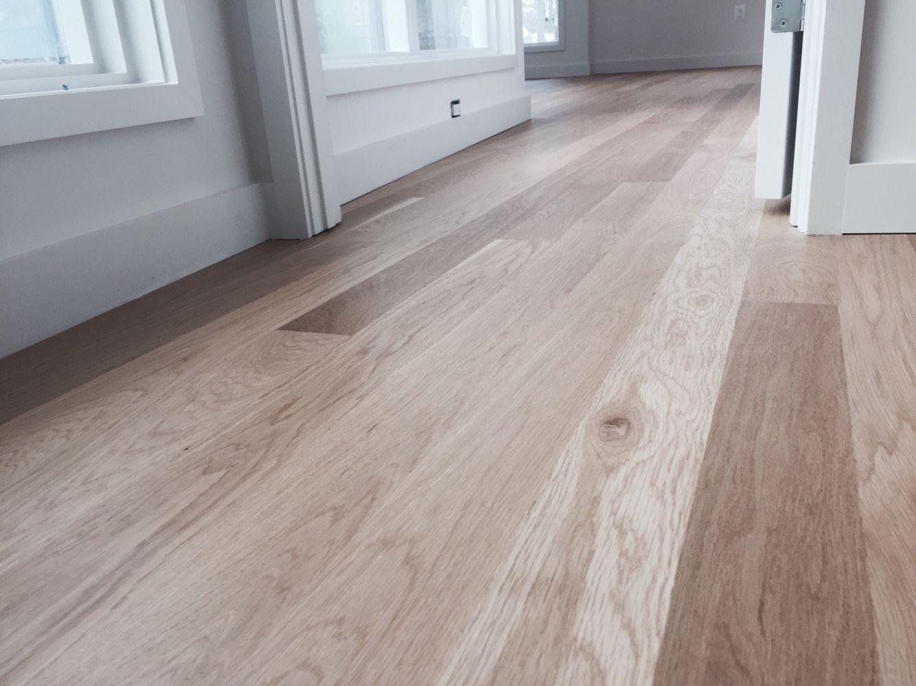 Locally Milled 5 White Oak And Finished With Bona Bonaseal And Bona Naturale Finish White Oak Hardwood Floors Oak Floor Stains White Oak Floors