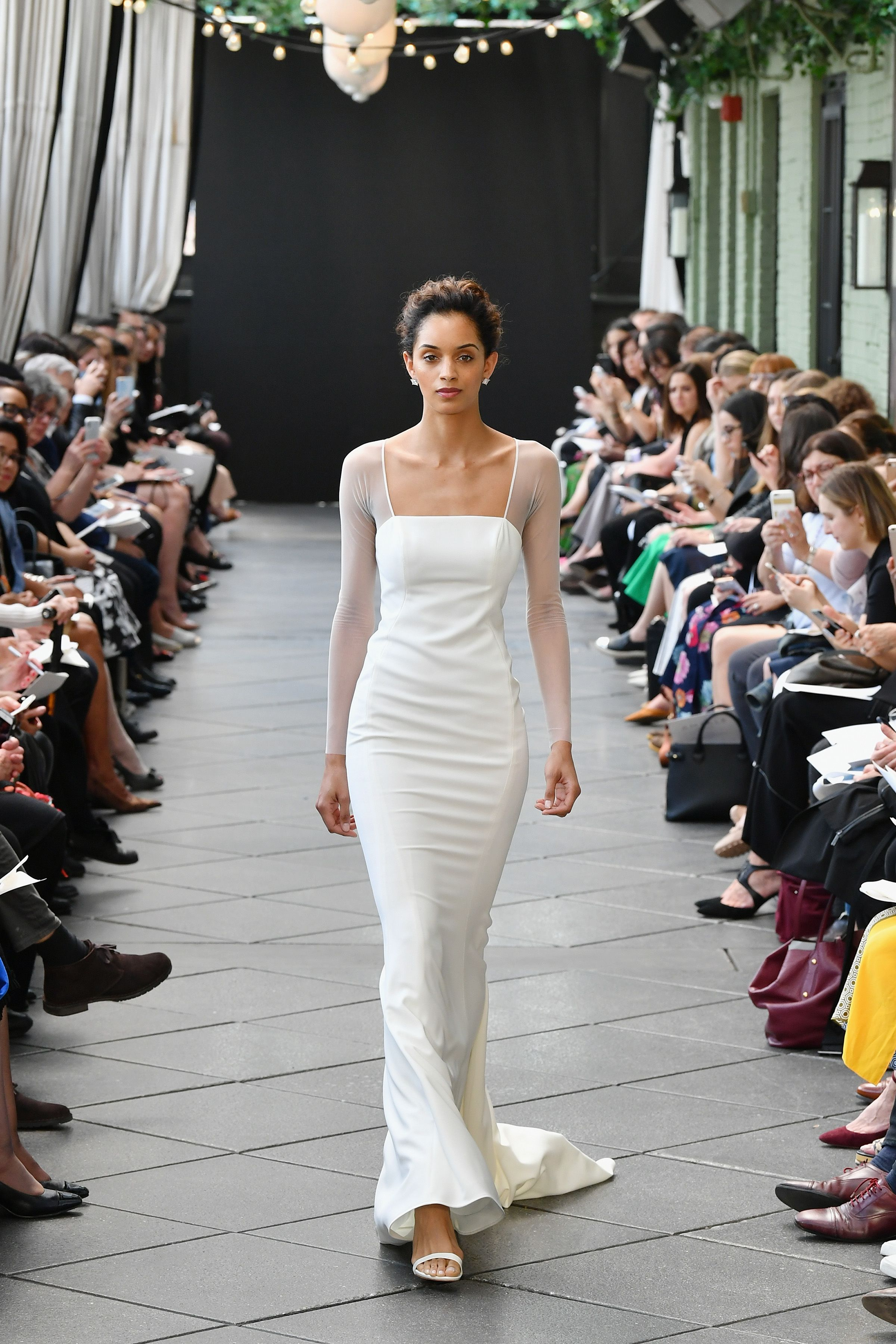 Long Sleeved Wedding Dresses We Love Amsale Bridal Beautiful